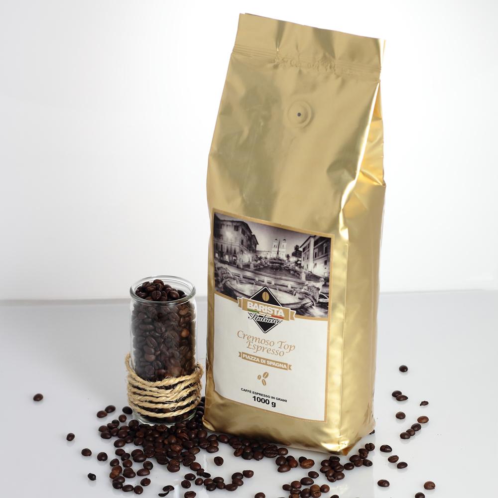 Caffè in grani Cremoso Top-Espresso