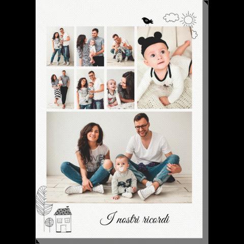 Foto su Tela completamente personalizzabile in formato 60x90 cm a soli 20,99€ !