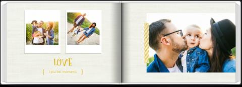 Fotolibro con Copertina Morbida in formato A5 di 72 pagine a soli 7,99€ !