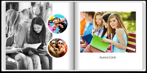 Fotolibro con Copertina Rigida quadrato in formato 30x30 di 72 pagine a soli 18,49€ !
