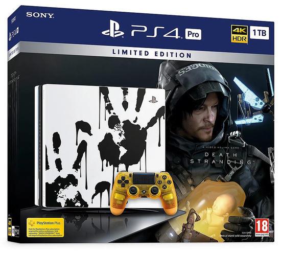 PS4 Pro 1TB + Death Stranding